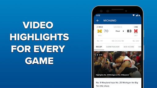 CBS Sports App - Scores, News, Stats & Watch Live 9.75 Screenshots 5