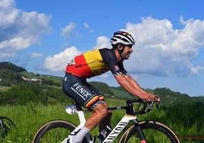 Dries De Bondt komt knap de top drie van het bergklassement in