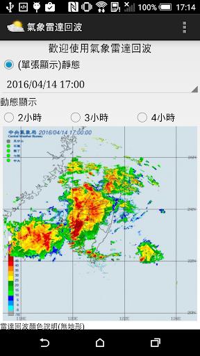 氣象雷達回波