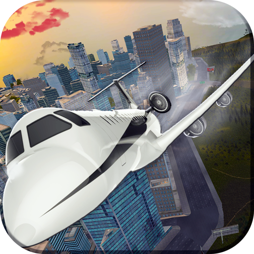 赛车游戏のFly Transporter Airplane Pilot LOGO-記事Game