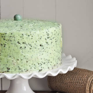 Mint Chocolate Chip Cake.