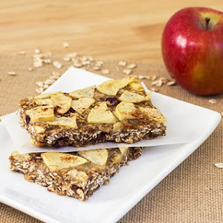 Autumn Apple Oat Bars