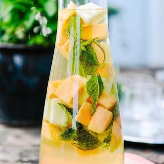 Mixed Melon & Limoncello Sangria