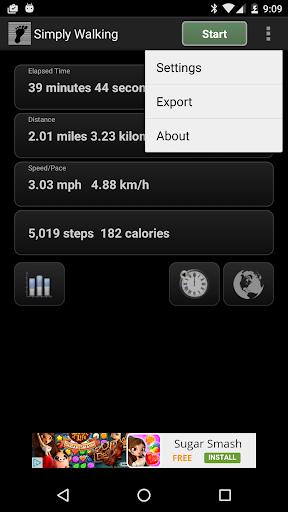 玩免費健康APP|下載Simply Walking - GPS地图步数 app不用錢|硬是要APP