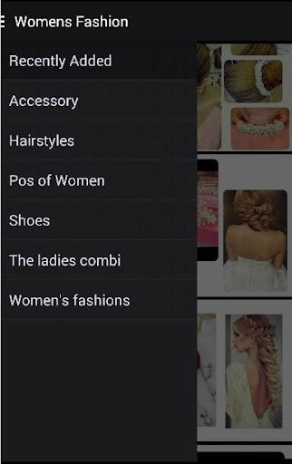 女性の髪のファッション