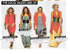 Photo: Emirates Woman May 08 Local Talent - Buffi Jashanmal