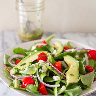 Deconstructed Guacamole Salad.