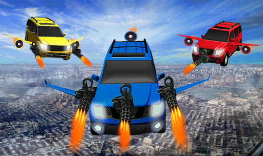 Flying Jeep Gunship Battle - 3D Aircraft Combat for PC