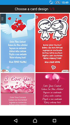 Valentine's Day eCards wishes
