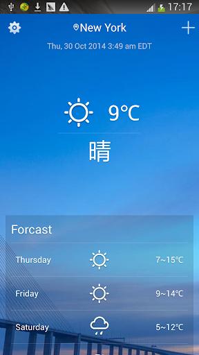 365天氣快報