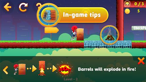 Tricky Liza: Adventure Platformer Game Offline 2D screenshots 7