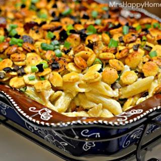 Clam Chowder Cheesy Pasta Bake