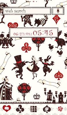 Dance with Alice Wallpaper - screenshot