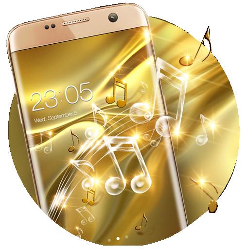 Gold Silk Theme: Music Luxury Deluxe