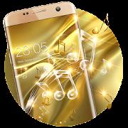 Gold Silk Glitter Theme: Dynamic Luxury  music
