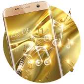 Gold Silk Glitter Theme: Dynamic Luxury  music