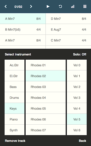 Chordbot Lite screenshot 4