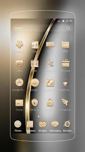 Aureate Luxury Launcher Thema - náhled