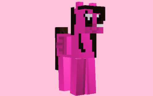 Cute Skins Pony for minecraft - náhled