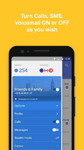 onoff App - Call, SMS, Numbers screenshot