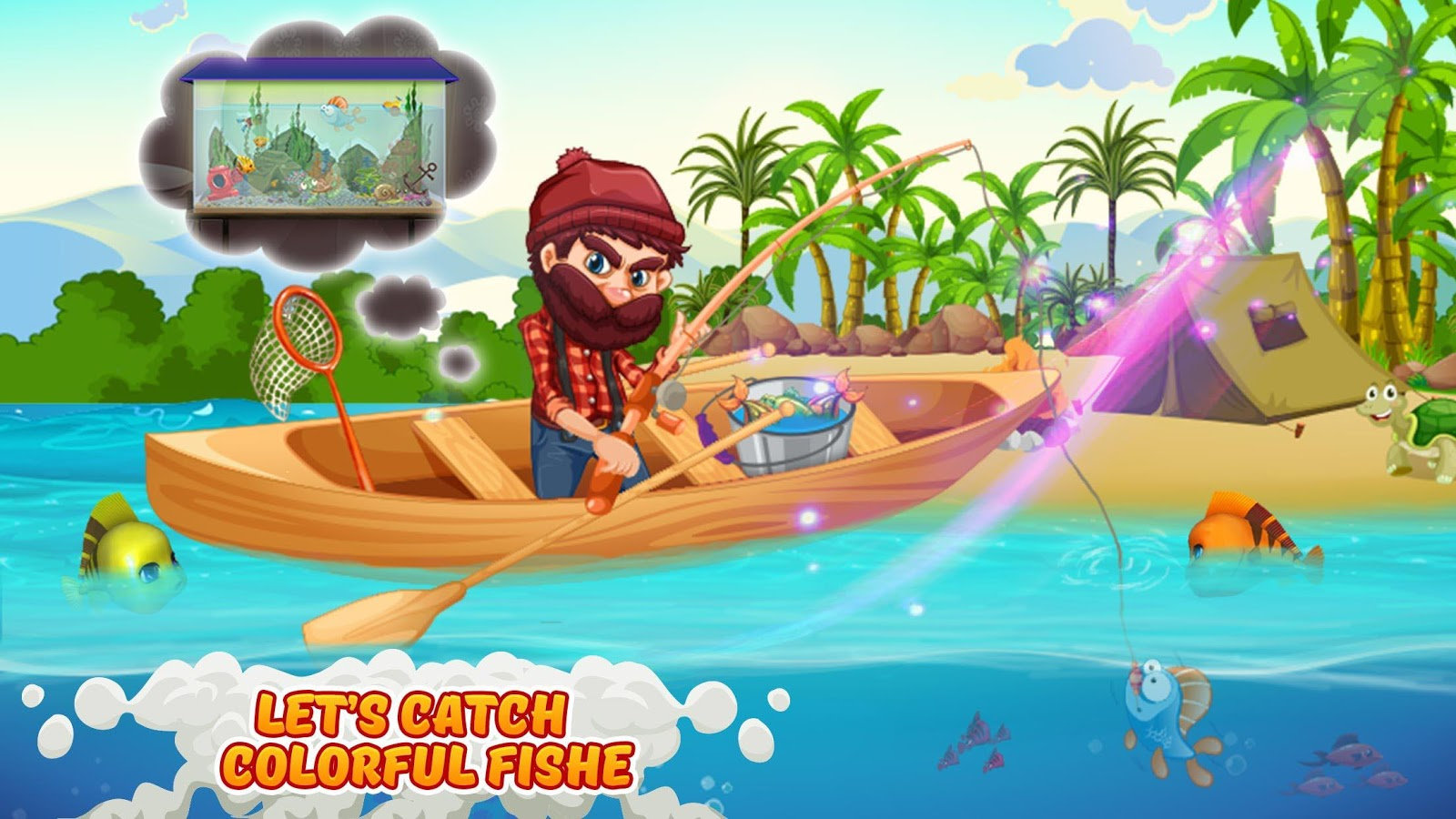 Fish for aquarium games - Fish Aquarium Management Sim Screenshot
