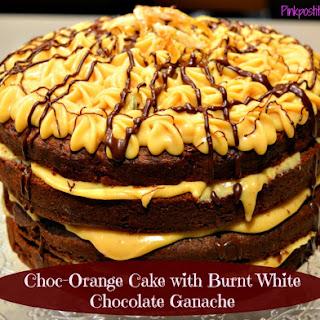 Choc-Orange Cake with Burnt Chocolate