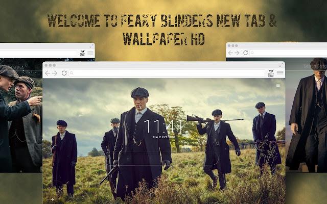 Peaky Blinders - New Tab & Wallpaper HD