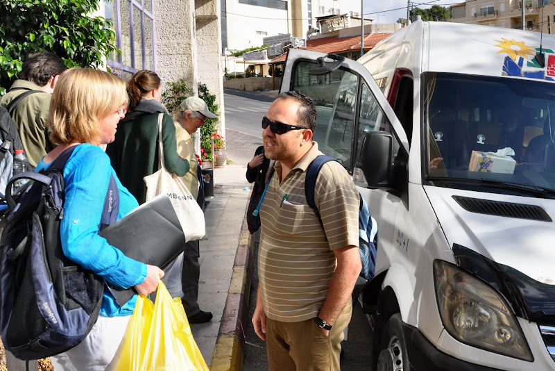 Photo: Saturday May 7th. Departure for the pre-programs. The following picture's are of the trip 'Desert Spirituality'.