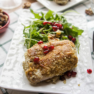 Holiday Almond and Herb Crusted Chicken