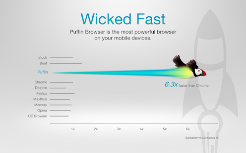 Puffin Web Browser Screenshot