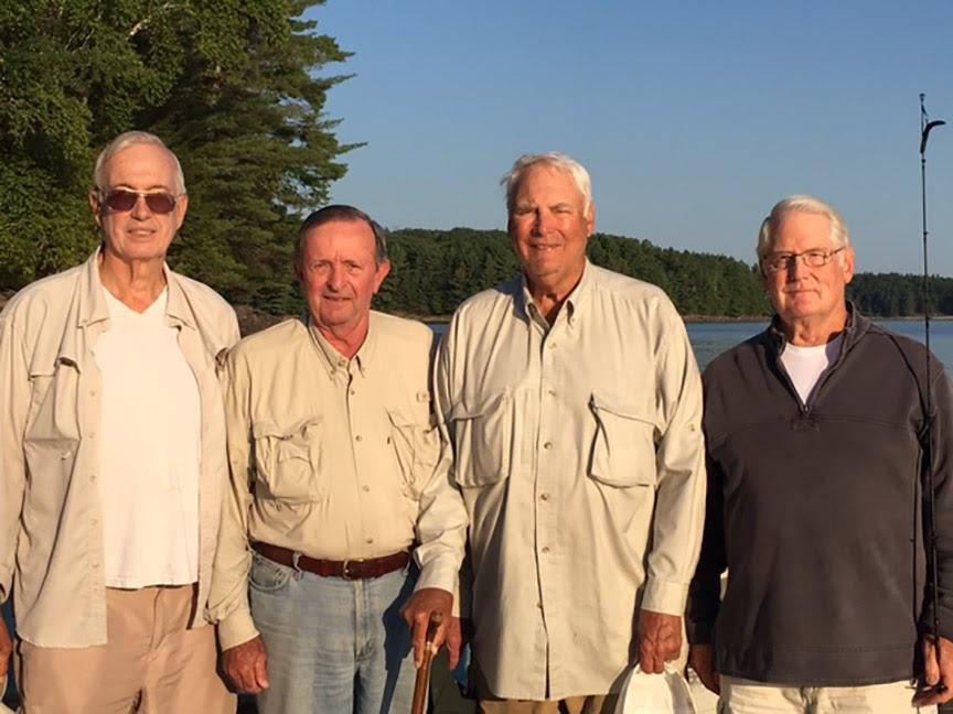 L-R Bill Sherrell, Barrie Zais, Bob Radcliffe, and Jim Wood