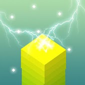 Power Stack Evolution - Stack Tower Building Game