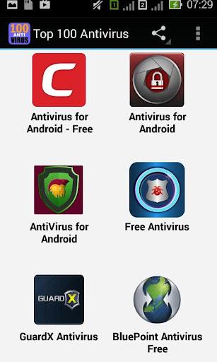 100 free antivirus software