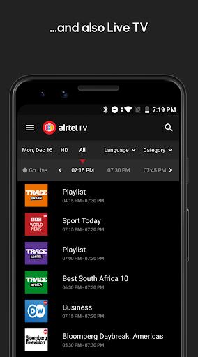 Airtel TV Africa screenshot 4