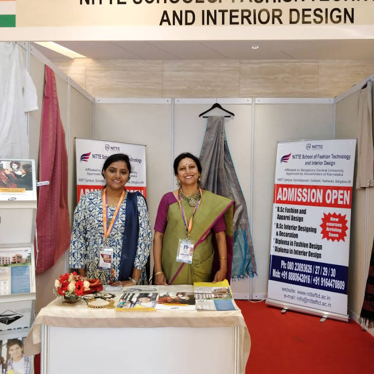 Nitte School Of Fashion Technology Interior Design We Are Potentially Number One College For Fashion Apparel And Interior Designing Decoration College In Bangalore