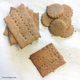 Vegan Cinnamon Oat Graham Crackers.