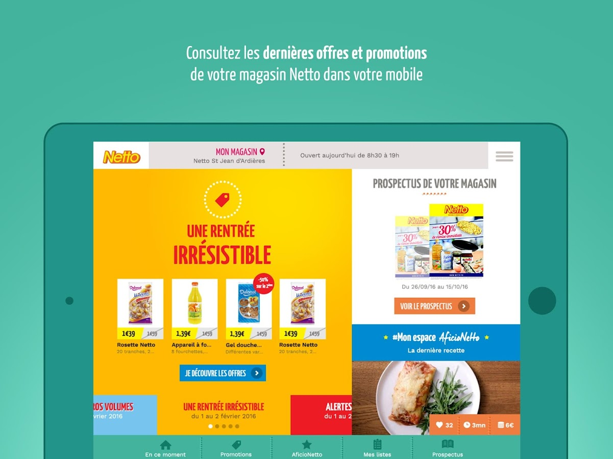 Netto - L'appli imbattable- screenshot