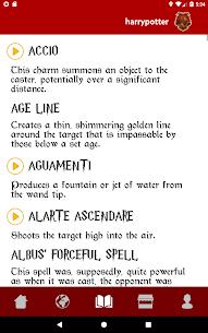 Spells Book & Quiz Harry Potter 6