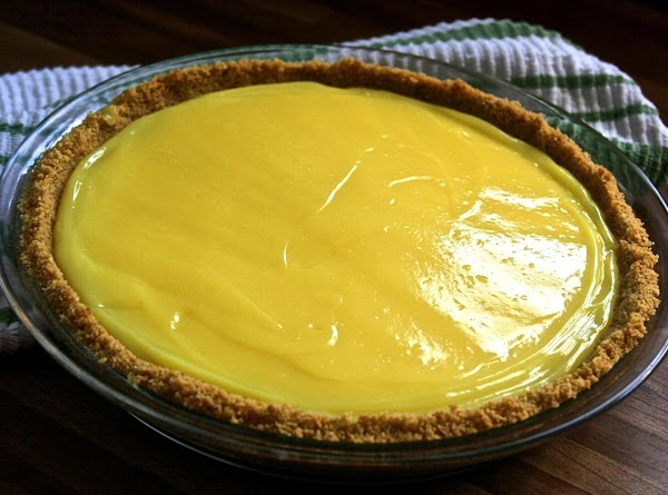 Second Layer of Pie: In clean mixer bowl, add 1 box instant lemon pudding mix,...