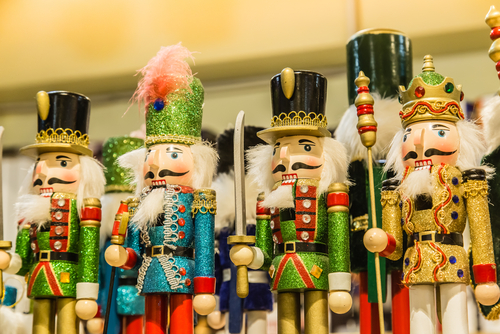 a variety of nutcrackers