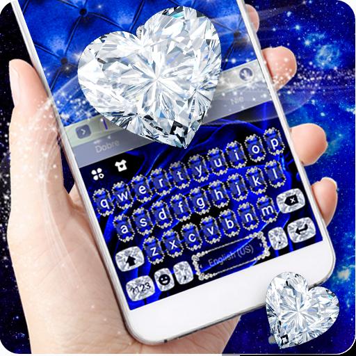 Glamour Velvet Diamond Luxury Keyboard Theme Icon