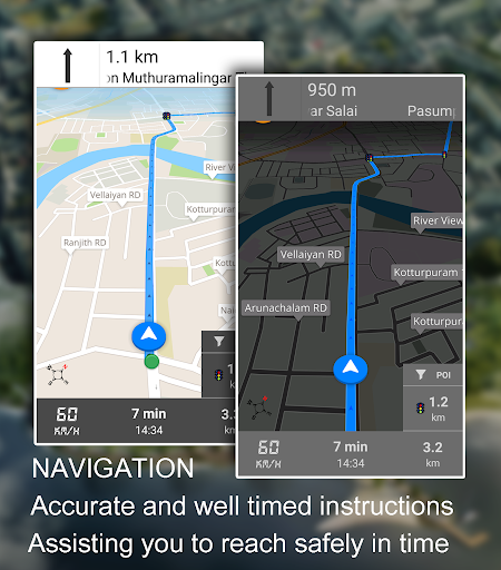 Driving Route Finder Screenshot