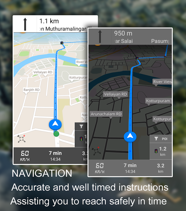 Driving Route Finder- screenshot