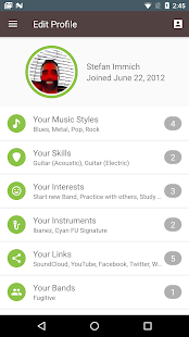 BandFriend - Musicians Network- screenshot thumbnail