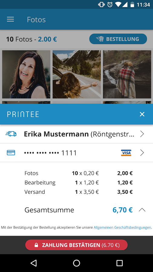 Printee – Screenshot