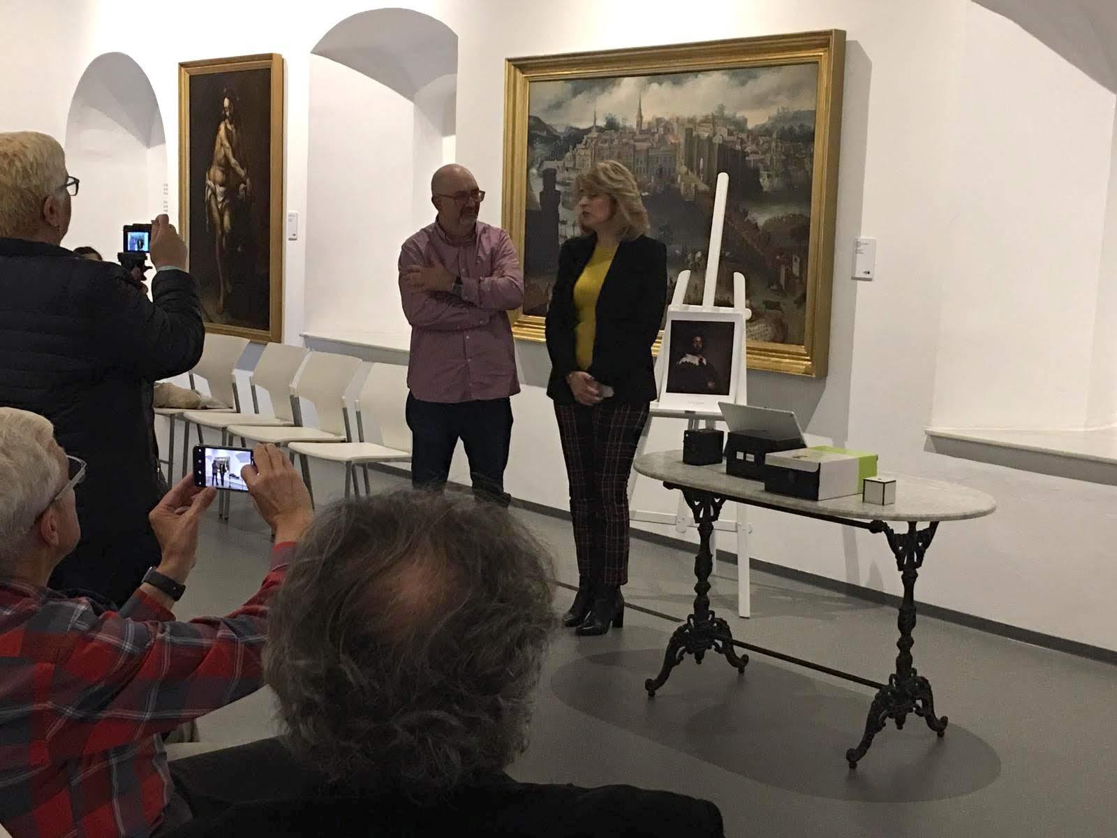 """Alberto Galán diserta sobre """"La imagen en el Barroco"""" dentro del ciclo """"Obras con voz"""""""