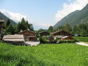 Photo: Mont Blanc still in view