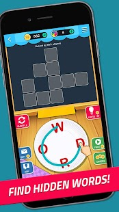 Word Jam: A word search and word guess brain game- screenshot thumbnail