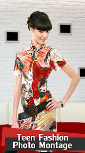 Teen Fashion Photo Montage - náhled