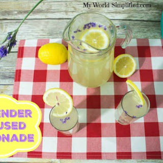 Lavender Infused Lemonade Recipe